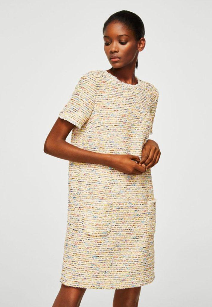 Robe d été Mango, 49,99 euros sur Zalando https   www.zalando.fr  only-strickoberteil-t-shirt-imprime-on321d1gp-j11.html 58b2f1437d2b