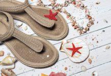 sandales plage