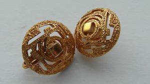 big fancy earrings